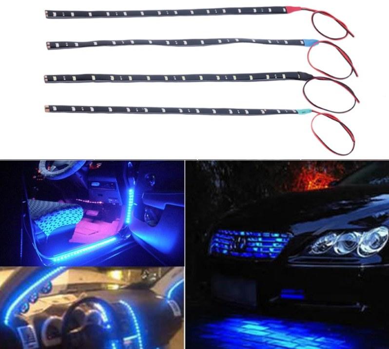 Светодиодные полосы в автомобиль