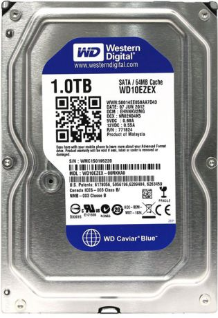 "Western Digital Blue HDD 3.5"" 1Tb (WD10EZEX) - жесткий диск"