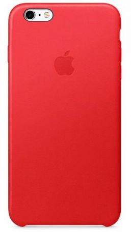 Чехол для Apple iPhone 6S Plus Leather Case (Red)