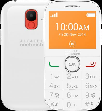 Alcatel One Touch 2004C Full White