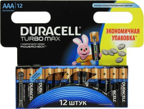 Duracell Turbo Max AAA (12 шт)
