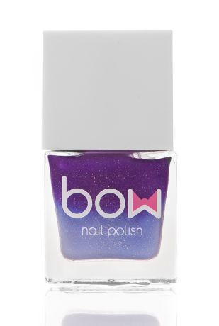 BOW Лак для ногтей Thermo Top Coat Violet