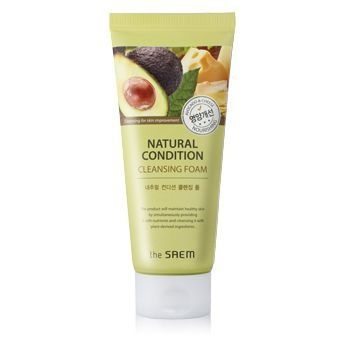Saem Natural Condition Пенка для умывания питательная Natural Condition Cleansing Foam [Nourishing)
