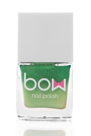 BOW Лак для ногтей Thermo Top Coat Green