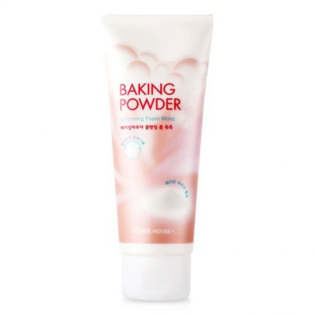 Etude House Baking Powder Пенка для умывания увлажняющая Baking Powder Cleansing Foam Moist