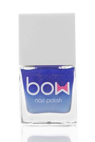 BOW Лак для ногтей Thermo Top Coat Blue