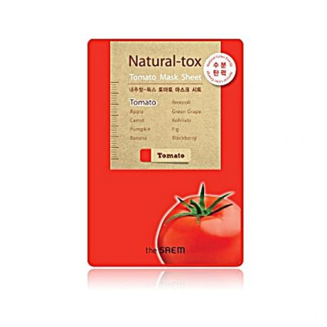 Saem Маска тканевая  томатная New_Natural-tox Tomato Mask Sheet