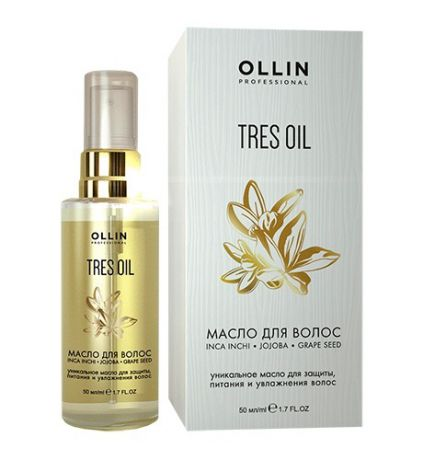 Ollin Professional Масло для волос Tres Oil