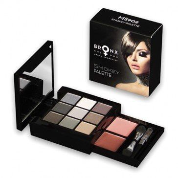Bronx Colors Палетка SMOKEY PALETTE Тени + помада(Makeup Set SMOKEY PALETTE) MS902