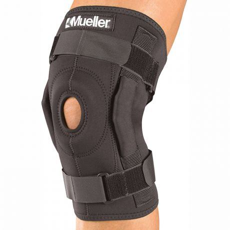 Mueller MUELLER HINGED WRAPAROUND KNEE BRACE MEDIUM