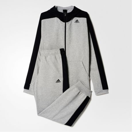 Adidas ADIDAS HOODED JOGGER TRACK SUIT