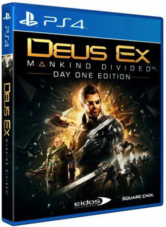 Deus Ex: Mankind Divided. Day One Edition [PS4]