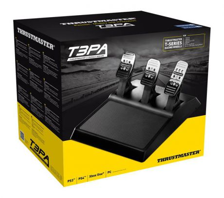Педали Thrustmaster T3PA, 3 Pedals Add On для PS4 / PS3 / PC / Xbox One