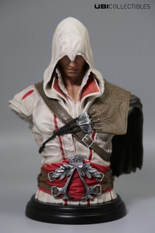 Бюст Assassin's Creed II. Ezio Auditore Da Firenze Legacy Collection (18 см)