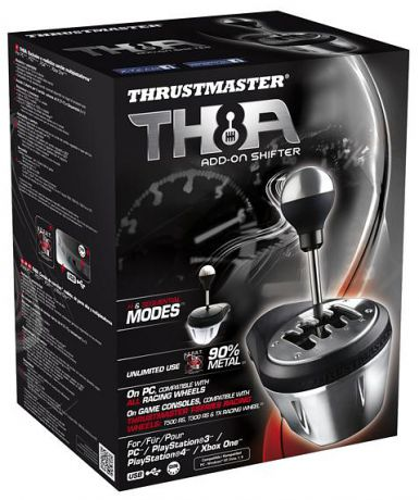 Коробка передач Thrustmaster TH8A Shifter Add-On для PS4 / PS3 / PC / Xbox One