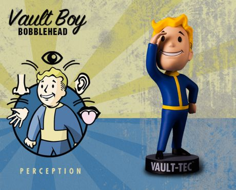 Фигурка Fallout Vault Boy. 111 Bobbleheads. Series One. Perception (13 см)