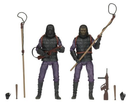 Фигурка Planet Of The Apes. Action Figure. Classic Gorilla Soldier. 2 Pack (18 см)