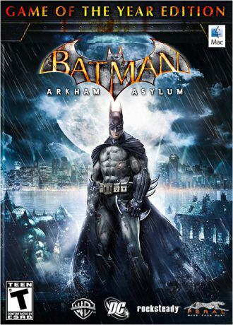 Batman: Arkham Asylum. Game of the Year Edition [MAC] (Цифровая версия)