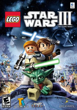 LEGO Star Wars III: The Clone Wars [MAC] (Цифровая версия)