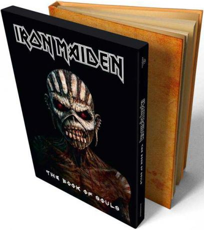 Iron Maiden. The Book Of Souls. Deluxe Limited Edition (2 CD)