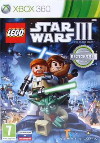LEGO Star Wars III. The Clone Wars (Classics) [Xbox 360]