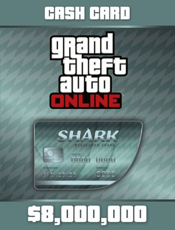 Grand Theft Auto Online: Megalodon Shark Cash Card (Цифровая версия)