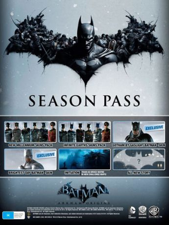Batman: Arkham Origins. Season Pass (Цифровая версия)