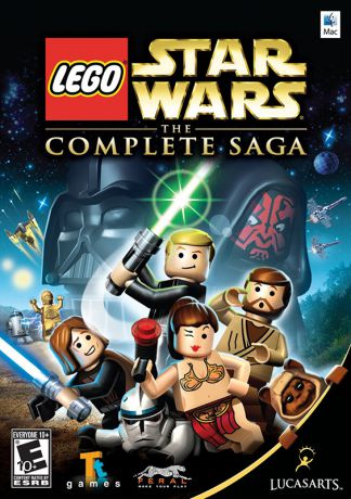 LEGO Star Wars: The Complete Saga [MAC] (Цифровая версия)