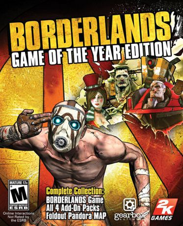 Borderlands: Game of the Year Edition [MAC] (Цифровая версия)