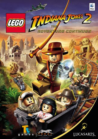 LEGO Indiana Jones 2: The Adventure Continues [MAC] (Цифровая версия)