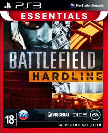 Battlefield Hardline (Essentials) [PS3]