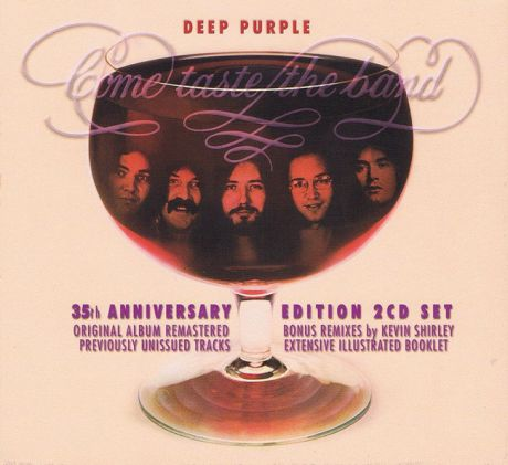 Deep Purple. Come Taste The Band (LP)