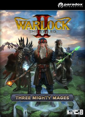 Warlock 2: The Exiled. Three Mighty Mages. Дополнение (Цифровая версия)