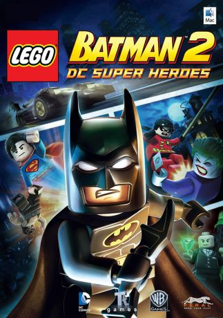 LEGO Batman 2: DC Super Heroes [MAC] (Цифровая версия)
