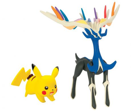 Набор фигурок Pokemon XY. Xerneas & Pikachu