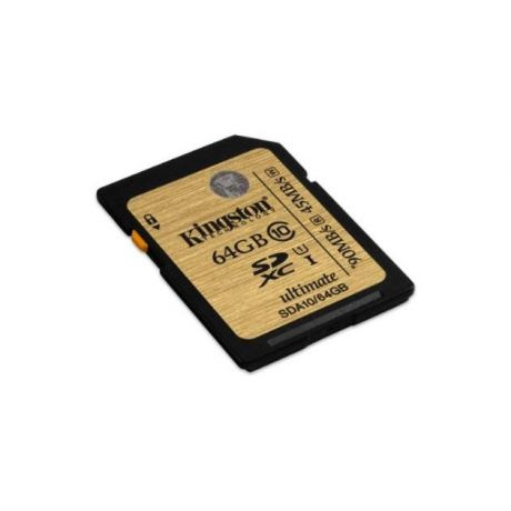 Kingston Kingston 16GB SDHC Class 10 UHS-I Ultimate Flash Card 64 Гб SDHC, 64Гб, Class 10