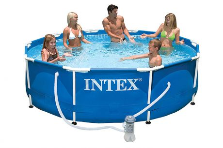 "Каркасный бассейн ""Intex Metal Frame"" 305х76 28200"