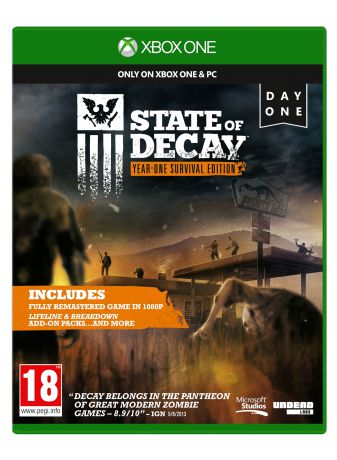 Microsoft State Of Decay: Year-One Survival Edition (4XZ-00020)