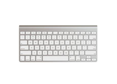 Apple Wireless Keyboard-RUS сер/бел
