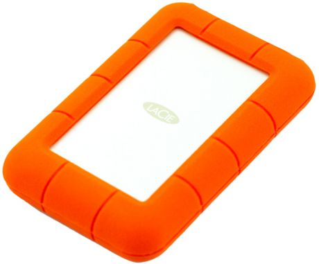 Lacie Rugged 1TB Thunderbolt/USB 3.0 (STEV1000400) - внешний жесткий диск (Orange)