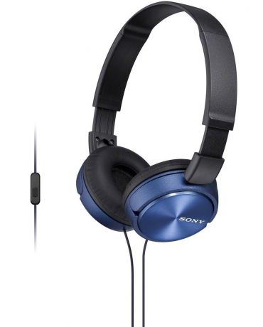 Sony MDR-ZX310AP - накладные наушники (Blue)
