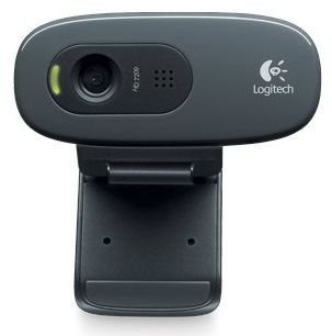 Logitech WebCam C270 (960-001063) - вебкамера (Black)