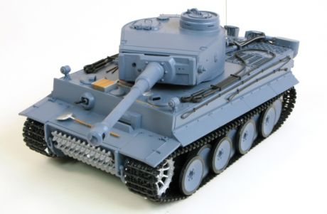 Heng Long German King Tiger 1 Henschel Pro 1:16 - радиоуправляемый танк (Grey)