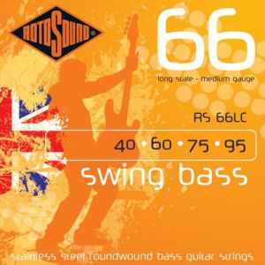 Rotosound Rs66lc Bass Strings Stainless Steel