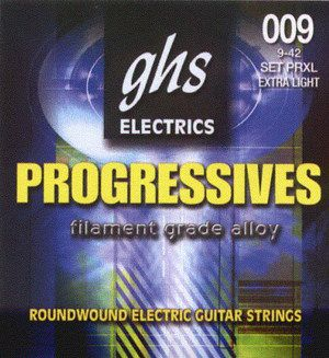 Ghs Strings Progressives Prxl 09-42