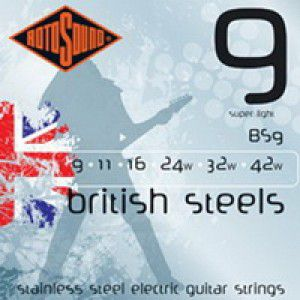 Rotosound Bs9 Strings Stainless Steel