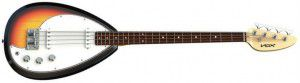 Vox V-mk3-b-3u Mark Iii Teardrop Bass 3-tone Sunburst
