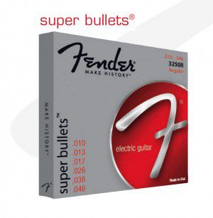 Fender Strings New Super Bullet 3250rh Nps Bullet End 10-52