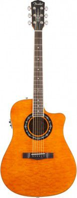 Fender T-bucket 300ce Amber Quilt Maple