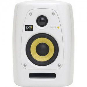 Krk Systems Krk Vxt4w Two-way Active Powered Monitorw/ Custom Paint White Glossy Uv Protective